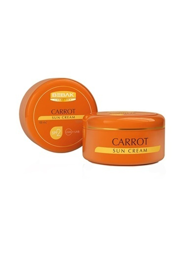 Bebak Bebak Carrot Sun Cream SPF2 100ml Renksiz